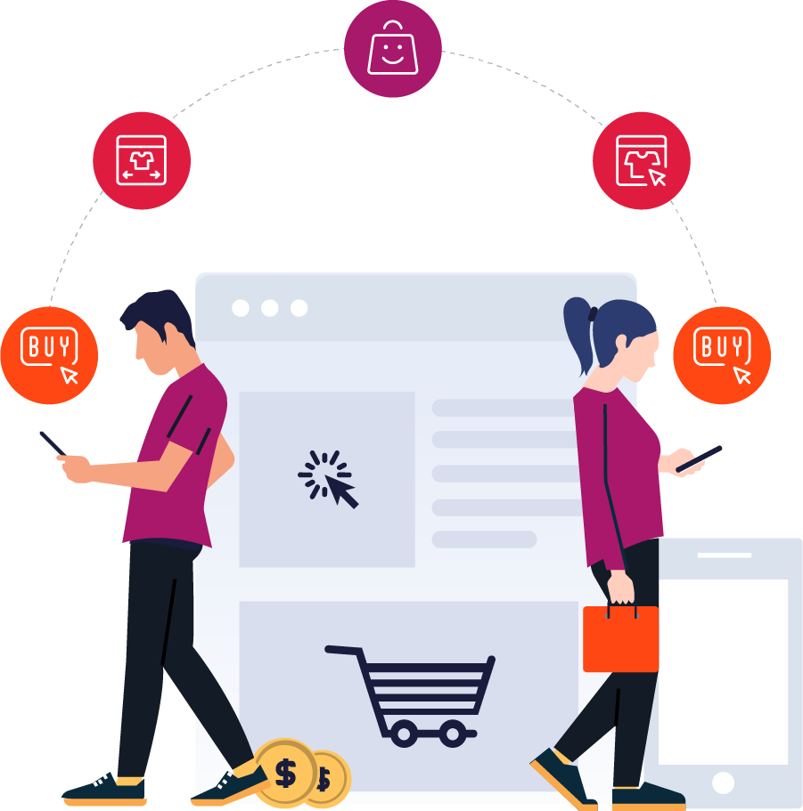 Build a seamless buying experience in any channel.